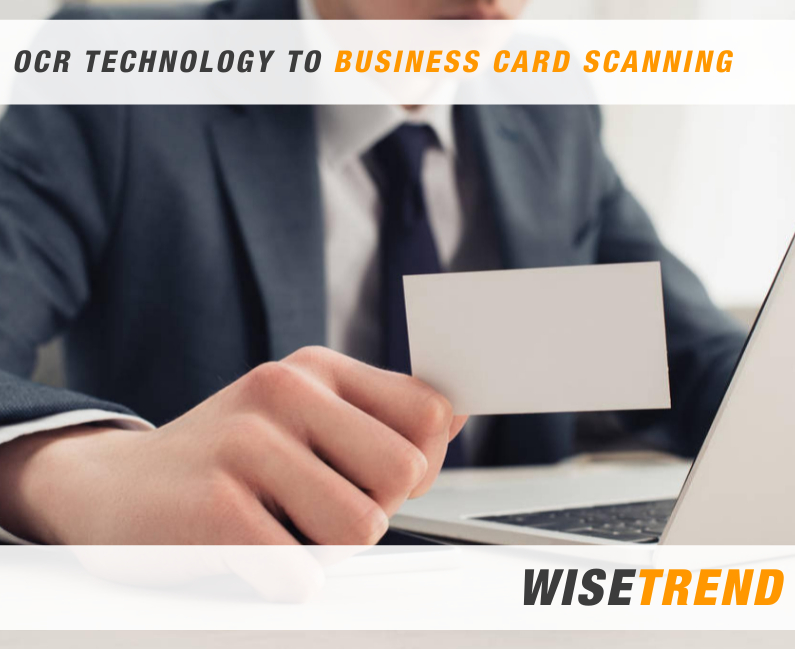 business card scanners, and OCR/BCR technology to read them