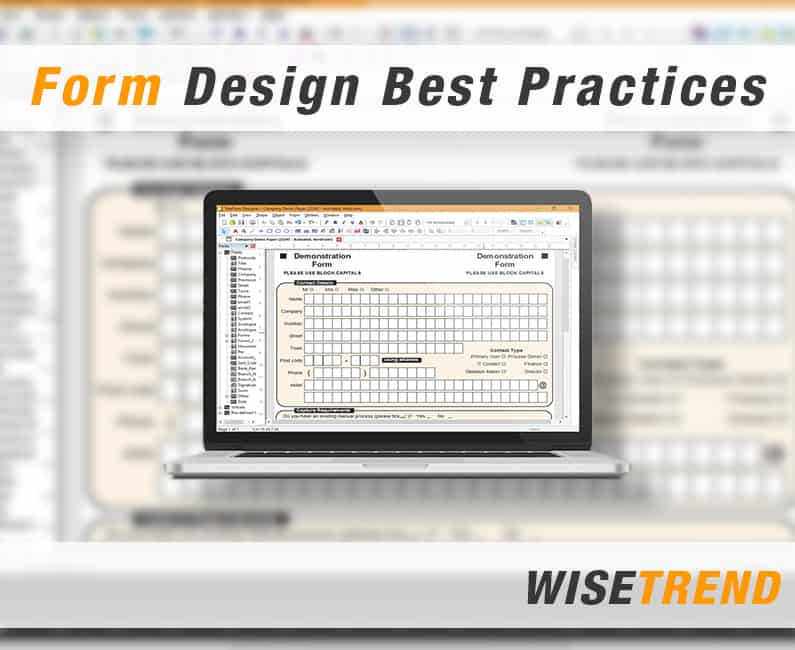 Form Design Best Practices