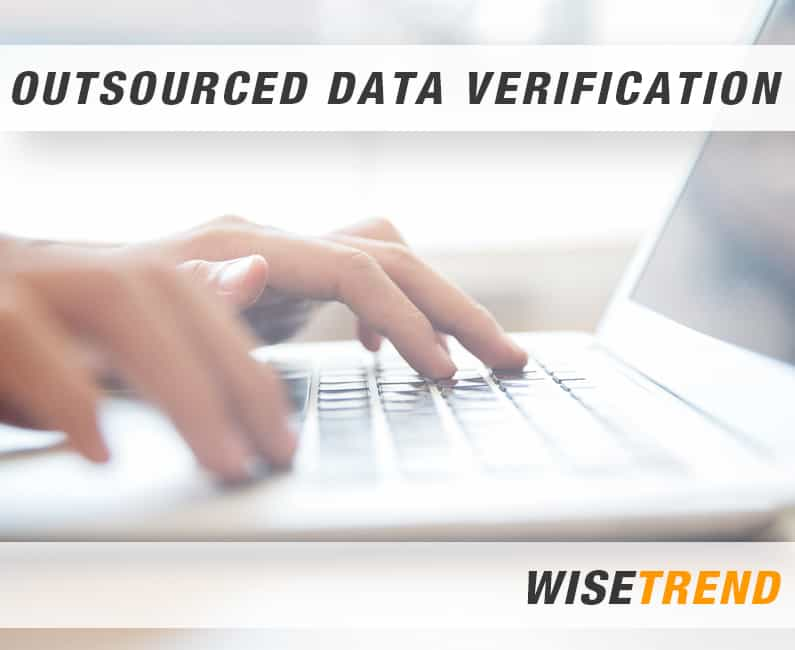 OUTSOURCED DATA VERIFICATION
