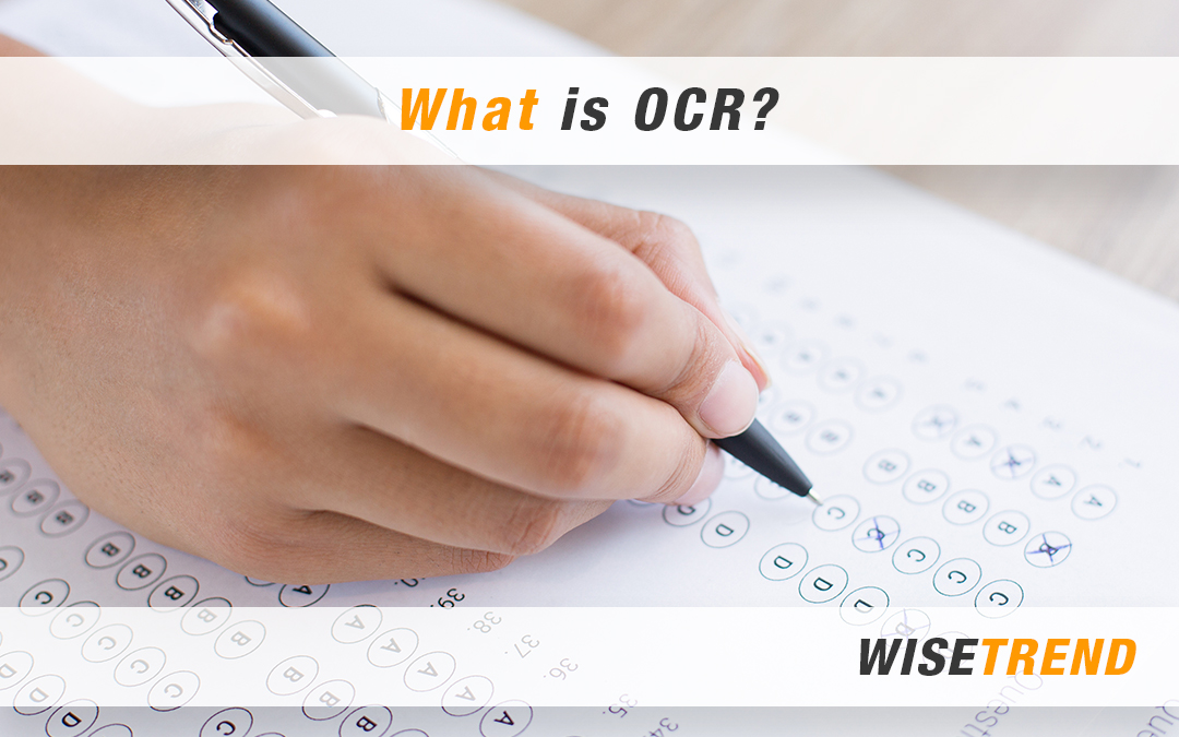 What is OCR?