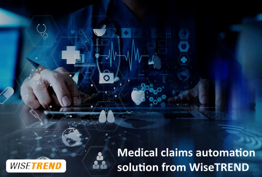 Medical claims capture automation solution from WiseTREND