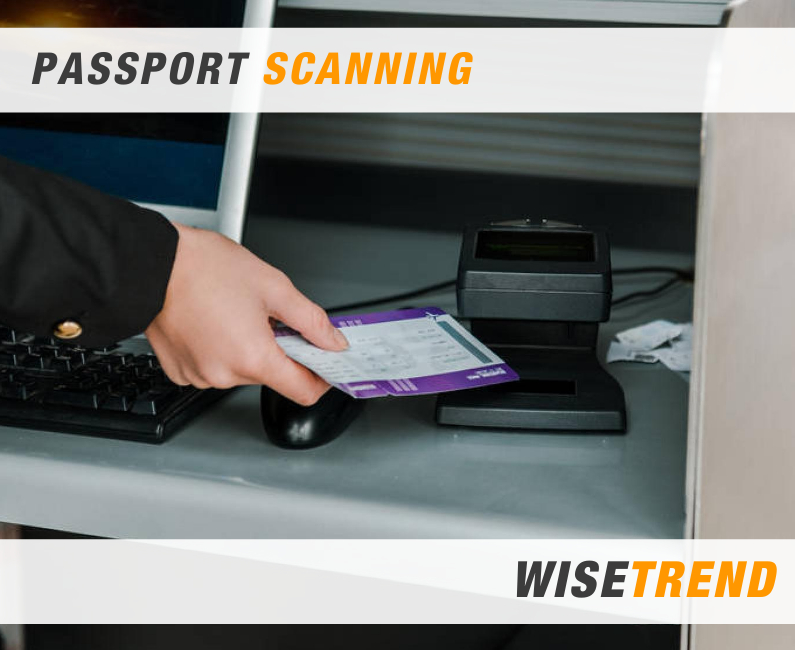 Passport Scanning and Processing