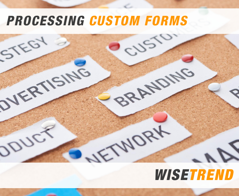 Automatic processing of Custom Forms with OCR software