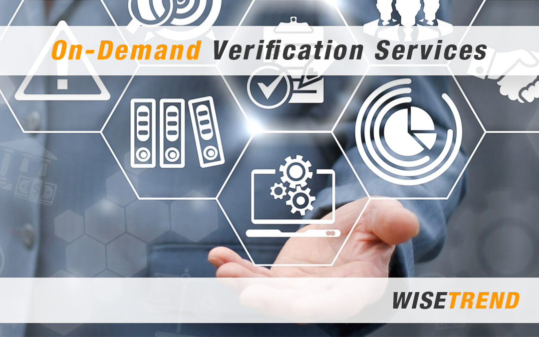 On-Demand Verification Services