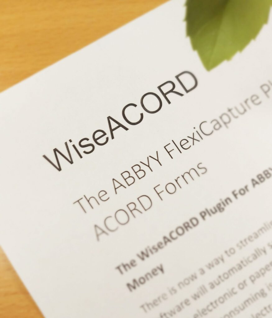 acord forms ocr