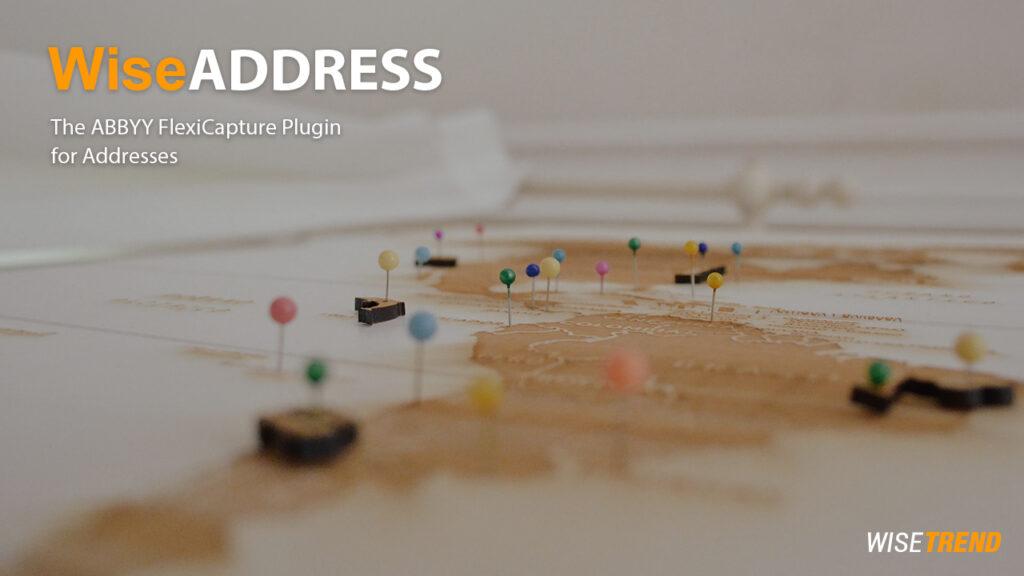 WiseADDRESS – Address capture software built by AI-