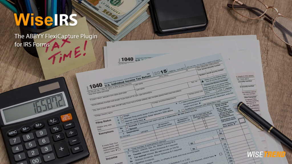 Tax forms processing