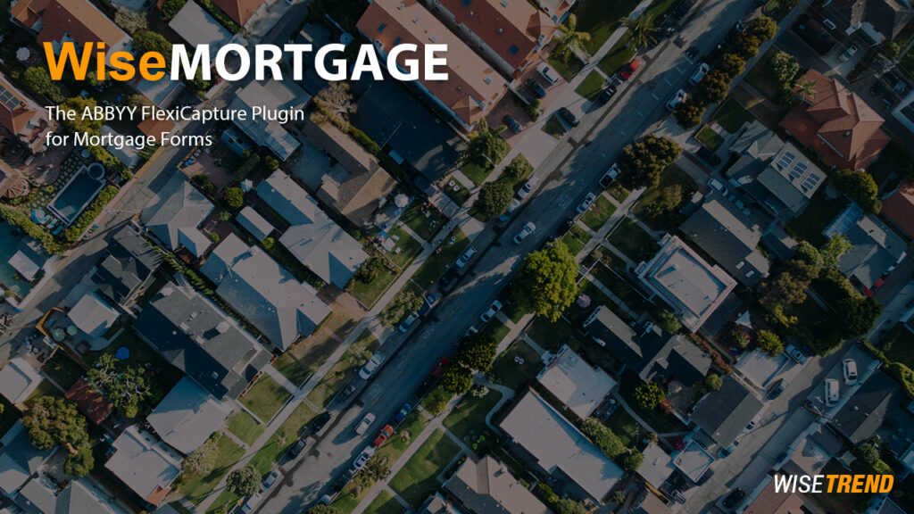 WiseMORTGAGE – an ideal recipe for mortgage OCR