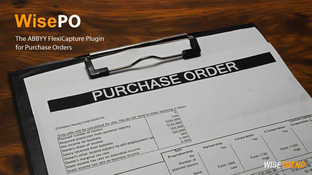 WisePO – Purchase Order automation