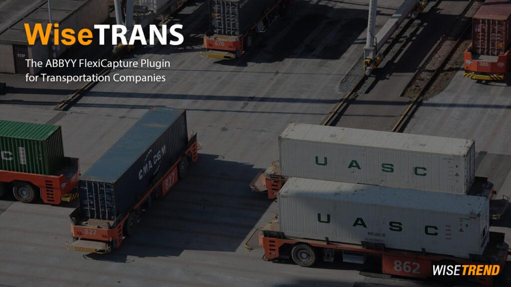 ABBYY FlexiCapture Plugin for Transportation Companies